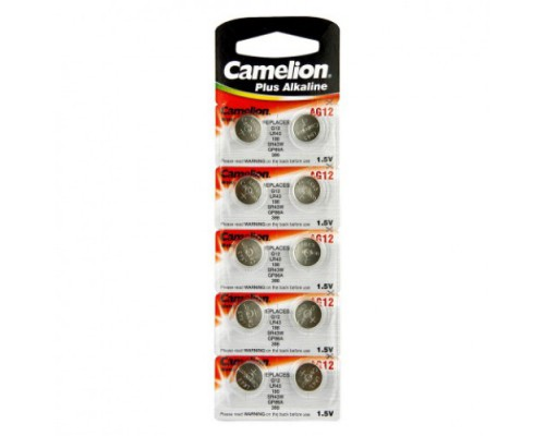CAMELION AG 12 (386А) LR43 (10) (100)