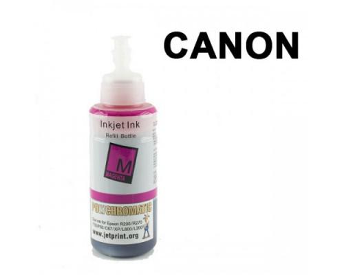 Чернила Polychromatic для Canon IP4200/IP4600 100мл Magenta водные