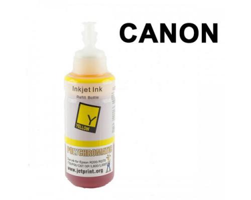 Чернила Polychromatic для Canon IP4200/IP4600 100мл Yellow водные