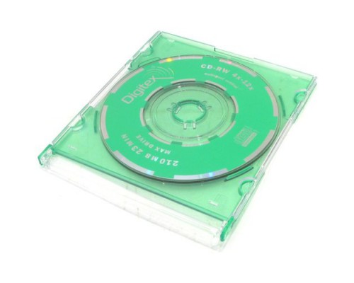Диск CD RW 210M Digitex 12х   Slim   1шт