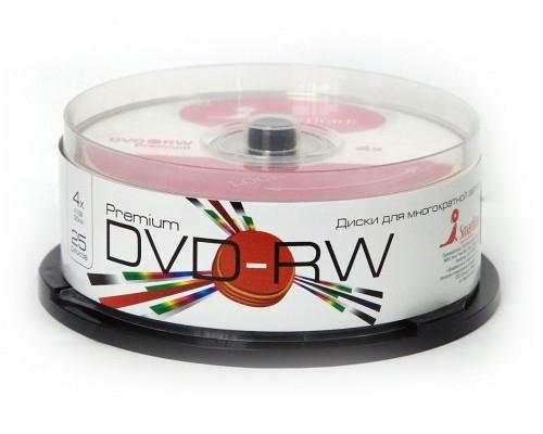 SMART TRACK DVD-RW 4X BRAND 25шт в пластиковой банке