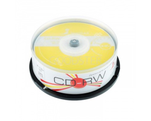 SMART TRACK CD-RW 80 12X 25шт в пластиковой банке