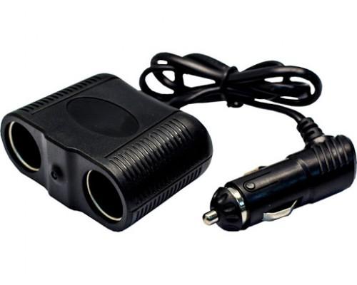 РАЗВЕТВИТЕЛЬ ПРИКУРИВАТЕЛЯ OLESSON 1642 2 ГНЕЗДА 1-USB ЧЕРН.