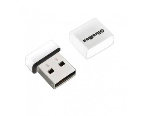 ФЛЭШ-КАРТА OLTRAMAX 16GB 70 mini WHITE USB 2.0