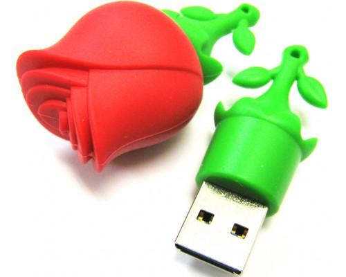 """ФЛЭШ-КАРТА SMART BUY  32GB WILD """"РОЗА"""" USB 2.0"""