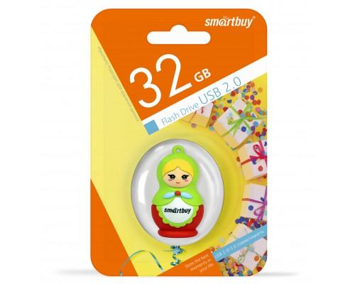 """ФЛЭШ-КАРТА SMART BUY  32GB WILD """"МАТРЕШКА"""" USB 2.0"""
