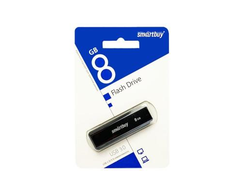 ФЛЭШ-КАРТА SMART BUY 8GB LM05 USB3.0 ЧЕРНАЯ С КОЛПАЧКОМ