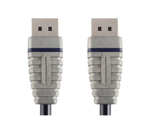 Кабель Display Port BANDRIDGE BCL2102, DisplayPort (m) - DisplayPort (m)