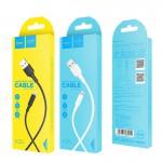 HOCO КАБЕЛЬ USB-iPHONE 5-8 X25 Soarer БЕЛЫЙ 1.0м