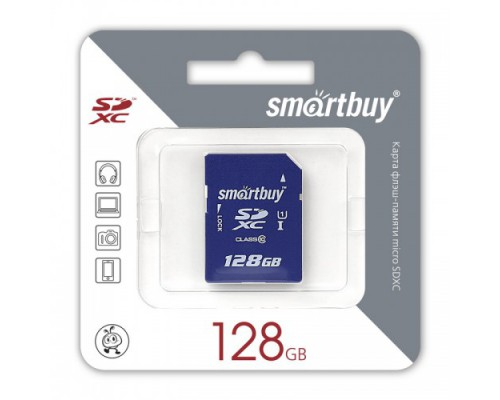 SMART BUY  128GB SECURE DIGITAL SDXC CLASS 10
