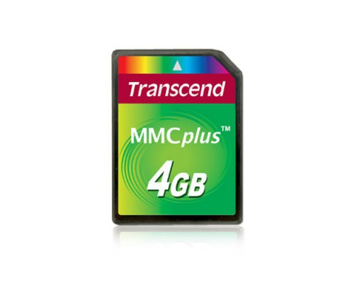 TRANSCEND 4 GB MMC PLUS HIGH SPEED