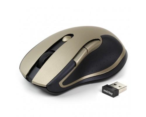 SMART BUY МЫШЬ БЕСПРОВОДНАЯ 508AG-GD ЗОЛОТО USB