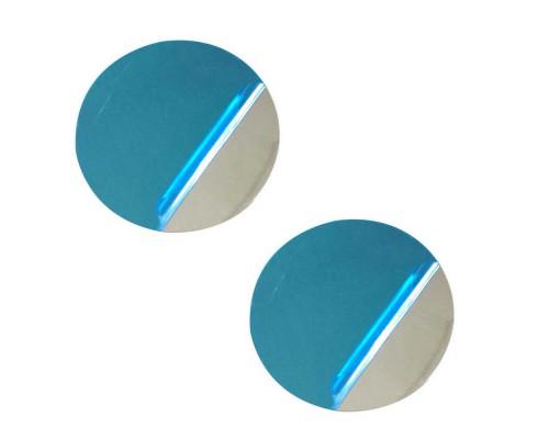 Металлическая пластинка для магнитов круглая