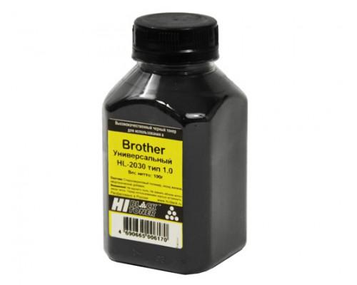 Тонер Brother Универсальный HL-2030 Тип 1.0 (Hi-Black) 100 г, банка