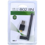 Адаптер WI-FI в USB WD-306 (150mbs) c внешней антенной